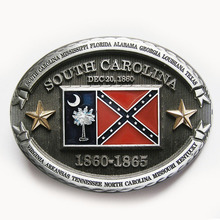Retail Distribute Bulk Original South Carolina Belt Buckle BUCKLE-FG016 Free Shipping