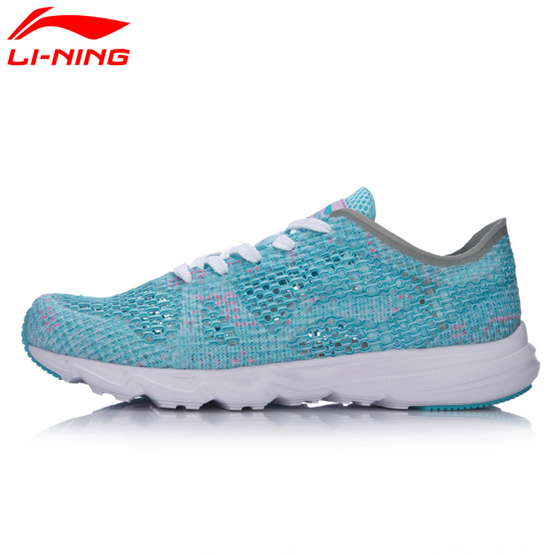Li-Ning Womens Candy Running Shoes Light Weight Textile Breathable Sports Shoes Sneakers ARBM018 XYP497<br>