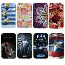 3GS Beautiful Original Plastic Printed Cartoon Phone Case For Apple iphone 3 3G 3GS Back Cover Printing Drawin Cell Phone Cases