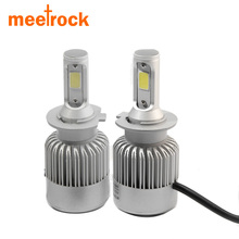 2X H7 led car headlights H4 H11/H8/H9 H1 H3 hb3 9005 hb4 9006 9004/9007 880 light bulb auto fog lamp 72W Automobiles headlight(China)