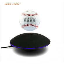 Levitating Bluetooth Speaker - Floating Wireless Speaker - SciFi Baseball Speaker music angel support SD card download(China)
