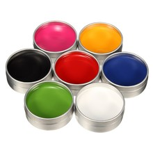 Grease Face Paint Body Makeup Art Painting Drawing Pigment Flash Glow Color Fancy Paint For Party Halloween Fancy Carnival(China)