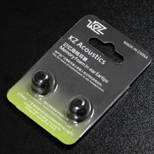 KZ Original Middle Black Noise Isolating Comfortble Memory Foam Ear Tips Ear Pads for Headphones(China)