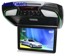 "12.1"" Flip Down Roof Mount Car DVD Player Monitor Game USB SD HDMI 1080P MP5"
