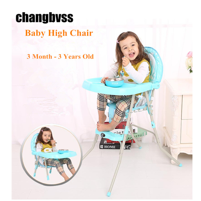 New Foldable Baby Chair Desk Dining With Plate Infant High Table Multifunctional Chairs Feeding