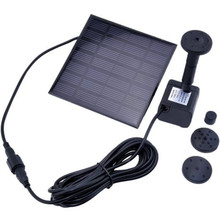 High Quality Solar Water Panel Power Fountain Pump Kit Pump Pool Garden Pond Watering Submersible Pumps Durable Quality