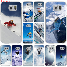 Lavaza Cool Alpine Skiing Hard Transparent for Samsung Galaxy S6 S7 S8 Edge Plus S5 S4 S3 & Mini Case Cover(China)