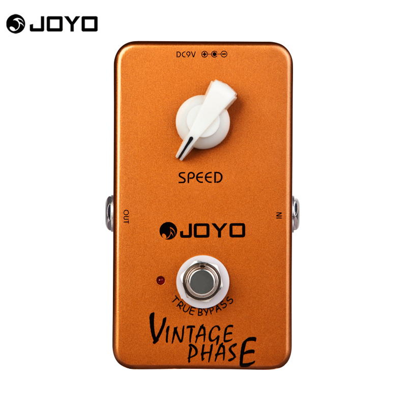 JOYO JF-06 Vintage Phaser Pedal Guitarra Guitar Effect Pedal True Bypass for Musical Instrument<br>