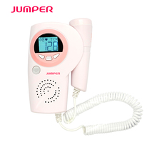 pocket doppler fetal/ hospital ultrasonic test equipment JPD-100A CE ultrasonic Fetal Baby Heart Rate Monitor with AA*2 battery(China)
