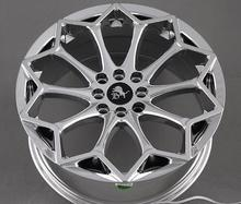 Chrome 17x7.5 4x100 4x114.3 5x100 5x114.3 5x110 5x115 Car Alloy Wheel Rims(China)