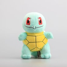 18cm Anime Squirtle Plush Toy Peluche Stuffed Doll for Kids Cartoon Children's Gift Free Shipping(China)