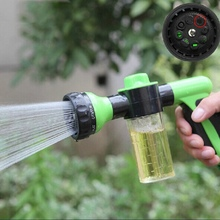 Buy Water Gun Plant Spraying Irrigation Garden Lawn Hose Watering Gun Sprayer Car Cleaning Foam Spray Garden Watering Tools for $9.10 in AliExpress store