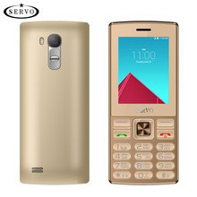 "original SERVO V9300 Phone Quad Band 2.4"" screen Dual SIM Cards cellphones Bluetooth Flashlight MP3 MP4 FM GPRS Russian Language(China)"