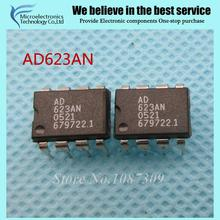 5pcs free shipping AD623AN AD623 AD623A DIP-8 Instrumentation Amplifiers SINGLE SUPPLY RR new original(China)