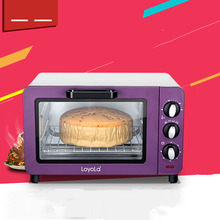 81805 Multifunctional electric oven 15L  baked cake household mini oven 220V  1200W  100-230 degrees purple white  special offer