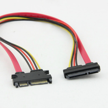 Data-Power-Cable Cord Connector Extension Serial Female 15--7 22pin Male-To-22-Pin 30cm/50cm