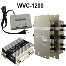 water proof 1200W micro grid tie  inverter with Power line communication modem+filter,MPPT pure sine wave 22-50V DC