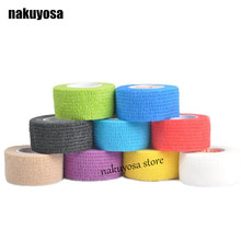 Elastic Adhesive Bandage Finger tape Volleyball New Finger protection 2.5cm x 4.5m Stretched Hot Sale 5rolls/lot