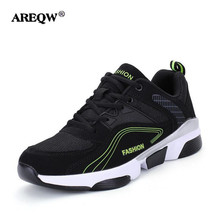AREQW New Spring autumn men light massage casual shoes mens walking shoes male shoes(China)