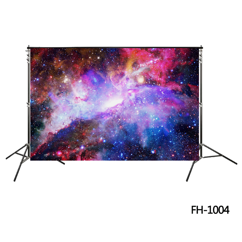Galaxy Red Outer Space Backdrop purple Star Cluster background Native Galaxy Nebula Starry Sky backdrop photo booth wallpaper