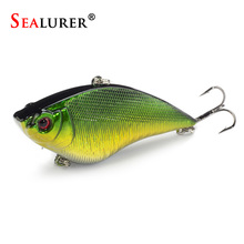 5 Colors Available Lifelike VIB Fishing Lure Medium Diver Tight Wobble Slow Floating 16g 7cm Pesca Hard Bait Crankbait