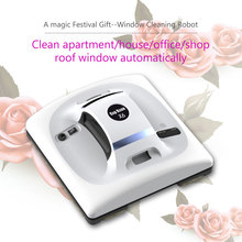 2017 latest festival gift window cleaning robot smart driver robotic washer inside outdoor glass cleaner tools