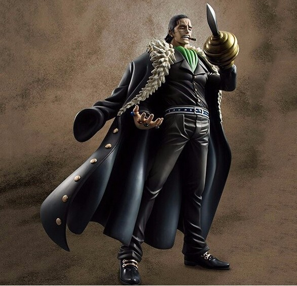 one piece action figures Sir Crocodile sand Devil fruit  figuras 240mm One Piece anime Model Toys Crocodile<br>