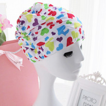 2017 Newest Women Swimming Cap Nylon & Spandex Print Hat Free Size For Ladies Female Good Quality Brand Bathing Cap 10 Colors