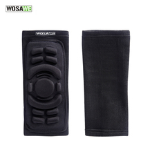 WOSAWE 1Pair Brand Basketball Elbow Pads Breathable Football Snowboarding Skating Cycling Sports Arm Sleeve Elbowpad Protector