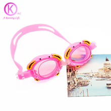 Children Swimming Glasses Silicone Kids Swim Goggles waterproof anti fog HD child swimming goggles Teenagers Adjustable