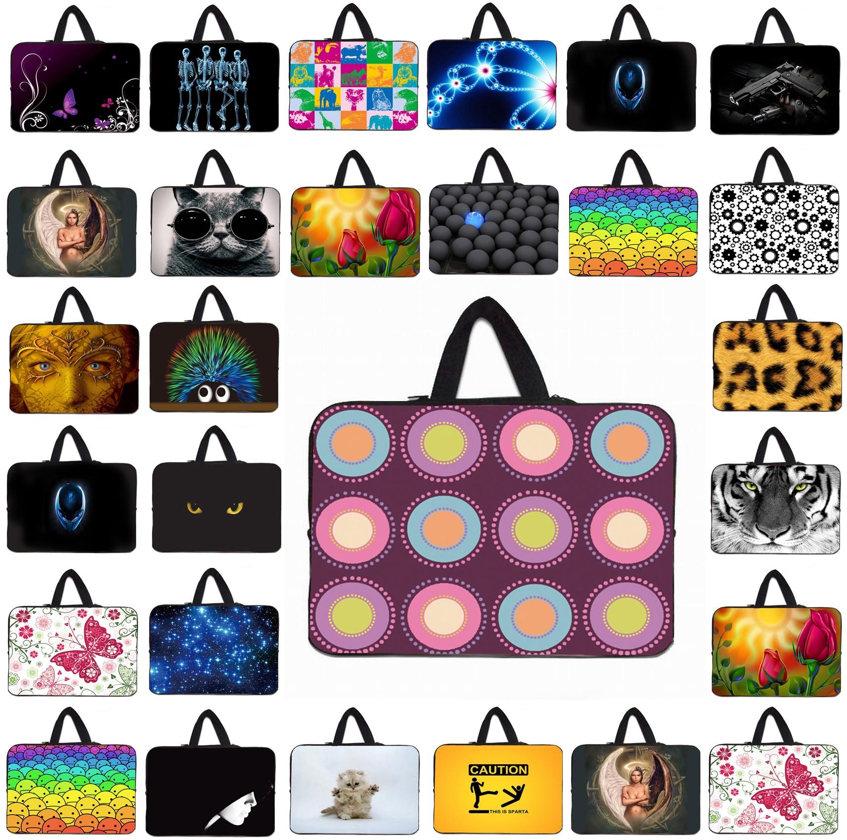 "Viviration Fashion Neoprene Laptop Bag 10.1 12 13.3 14 15 15.6 17 inch Sleeve Case 13"" 10"" Notebook Bag Chuwi Hi10 Huawei PC"