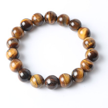 8mm Natural Tiger Eye Beads Stone Bracelet for Women Men Wristband Personality Handmade Jewelry Bracelets Pulseras Best Gifts