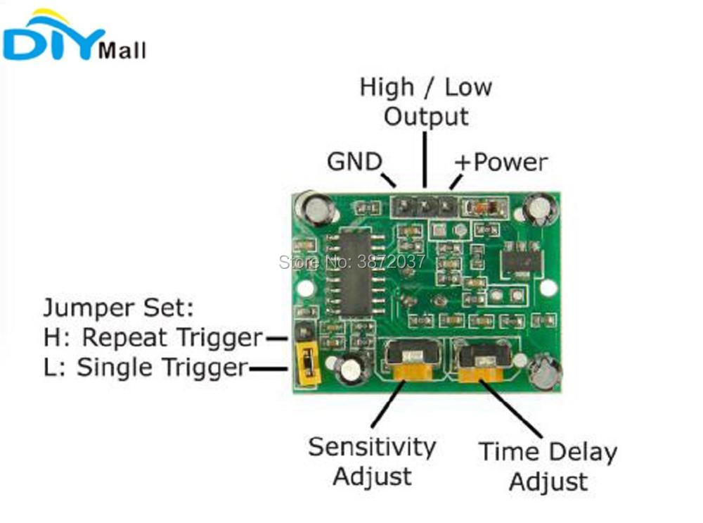 FZ0057-HC-SR501 Pir Infrared IR Sensor-4