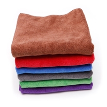 Microfiber Car Detailing Towel Ultra Soft Edgeless Towel Car Washing Cloths 40x60cm Automobiles Maintenance Tool Kit