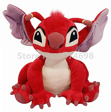 New Lilo and Stitch Plush Toy Red Leroy Peluche Stuffed Animals 28cm Cute Kids Soft Toys For Baby Children Gifts(China)