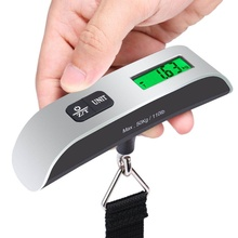 Buy New 50kg/10g Portable LCD Digital Hanging Luggage Scale Travel Electronic Weight Digital Travel Hanging Hook Scale for $5.96 in AliExpress store