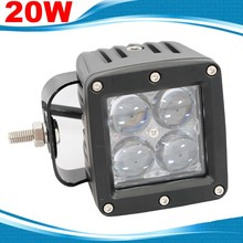 "20w Mini 3"" Led OFF Road truck lights 12v 24v 4D Lens Spotlights ATV SUV UTV Tractor working light Offroads 4x4 4WD Headlamp 12V"