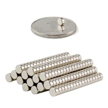 50 Pieces/Pack 5*1.5mm Magnetic Materials Neodymium Magnet Mini Small Round Disc Newest