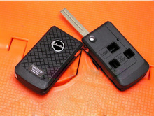 Car Key Shell 3 Buttons Modified Flip Folding Remote Key Case For Lexus Key Fob Cover