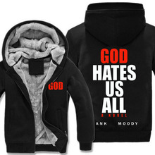 Californication Showtime Show God Hates Us All Hank Moody men Hoodies Adult