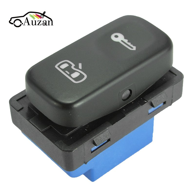 for Skoda Octavia Mk2 Yeti 2004-2013 Central Door Lock System Switch Button Black 1Z0 962 125A / 1ZD 962 125A(China)