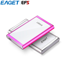 "EAGET G90 Ultra-thin USB 3.0 2.5"" 500GB 1TB External Hard Drive High-speed Mobile Hard Disk Hardware Encryption duro externo HDD(China)"