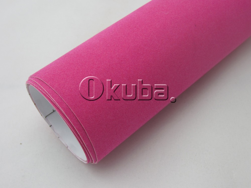 Pink-Velvet-Film-Car-Sticker-Film-04
