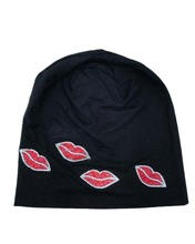 B17966 newest fashion blazing red lips headbands,good stretch and comfortable  cotton fabric,hair accessories for women