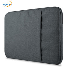 Hot Nylon Laptop Sleeve Bag For New Macbook Pro Touch Bar 13 Inch A1706 A1708 For 11 12 15 Pro Retina13.3 15.4 Notebook bag(China)