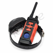 Heropie 800M Electric Dog Training Collar Rechargeable And Waterproof 100 Levels Vibration Shock Collar Pet Dog Bark Collar(China)