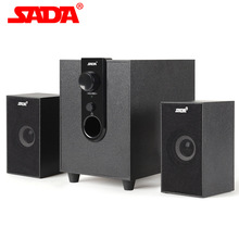 SADA D-210 By 5V USB Power 2.1 Computer Speaker with Subwoofer - Best for Music, Movies, Multimedia PC and Gaming Systems