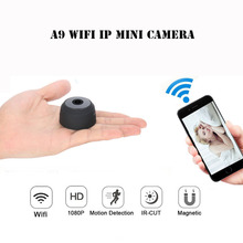 Buy A9 WIFI Mini Camera HD 1080P IR Night Vision DVR Wireless IP P2P Micro Camera Motion Sensor WIFI H.264 Cam Video Recorder for $49.35 in AliExpress store