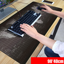 FFFAS 90 x 40cm XL Anime Grande large Mousepad gamer gaming Mouse pad beautiful table reading desk mat One piece Luffy world OW(China)