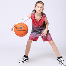 2017 New Boys Throwback Basketball Jerseys Sets Girls Blank Design Team Uniforms Vests+Shorts Kits Youth Kids Space Jam Jersey